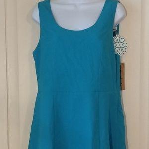 Teal green skater dress Love Riche size L